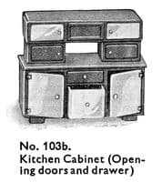 Reproduction Drawer for Dinky Toys Dolly Varden 103B
